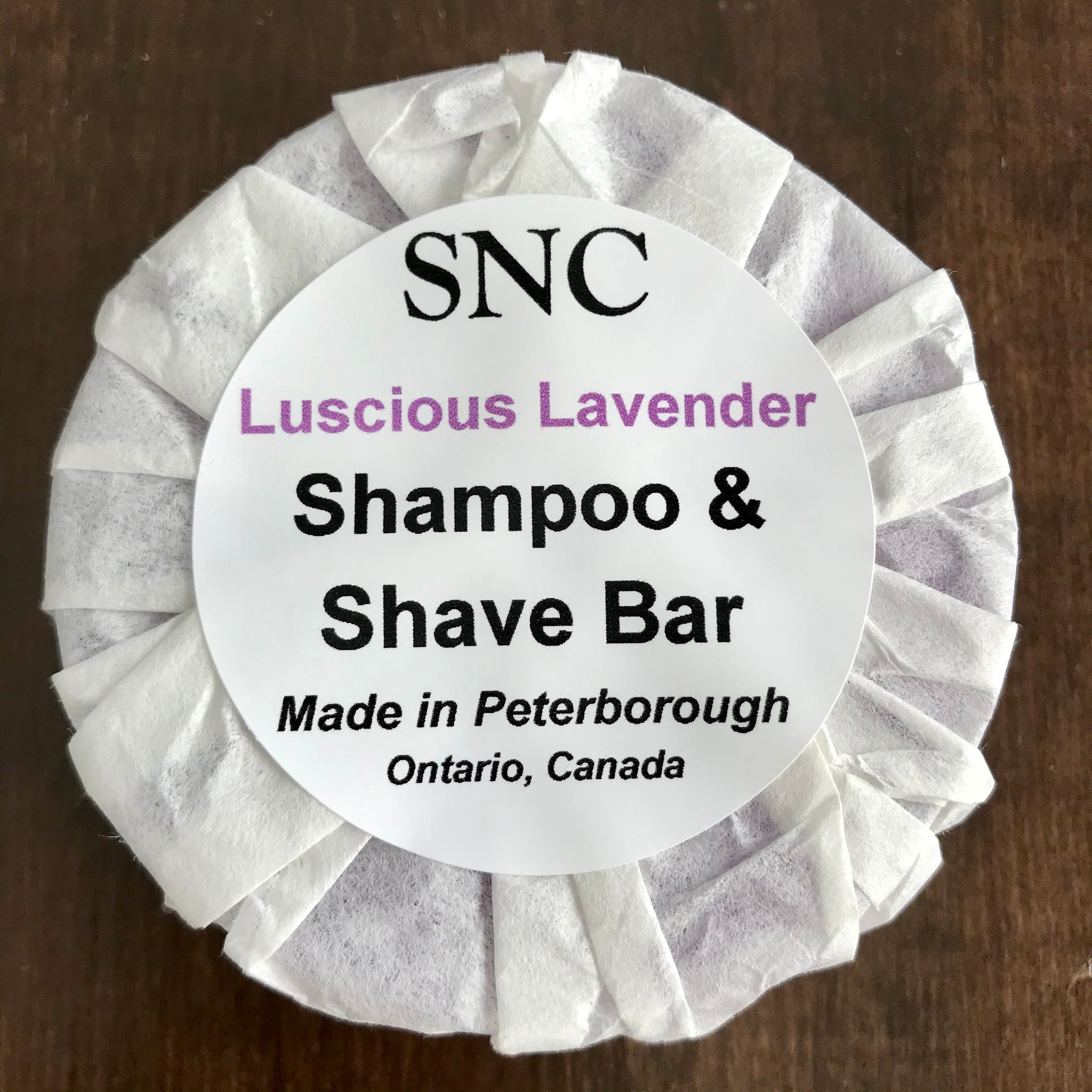 Luscious Lavender Shampoo and Shave Bar
