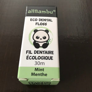 buy biodegradable plastic free dental floss in canada