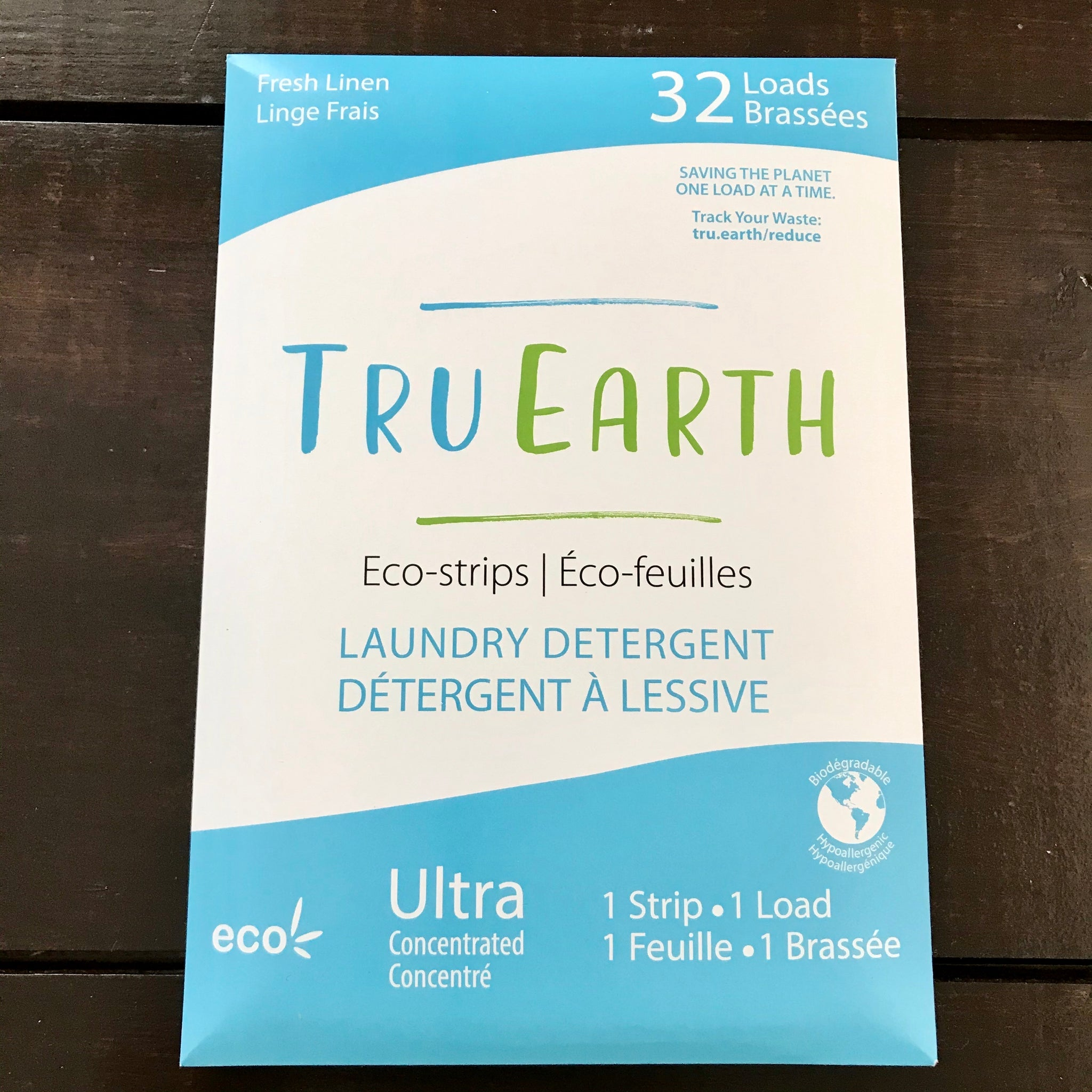 buy tru earth fresh linen eco laundry strips 32 pack