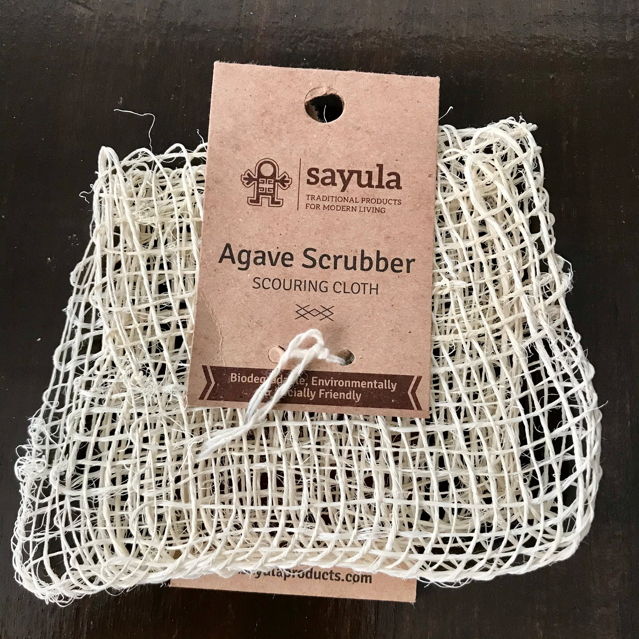 biodegradable sayula dish scrubber scouring cloth