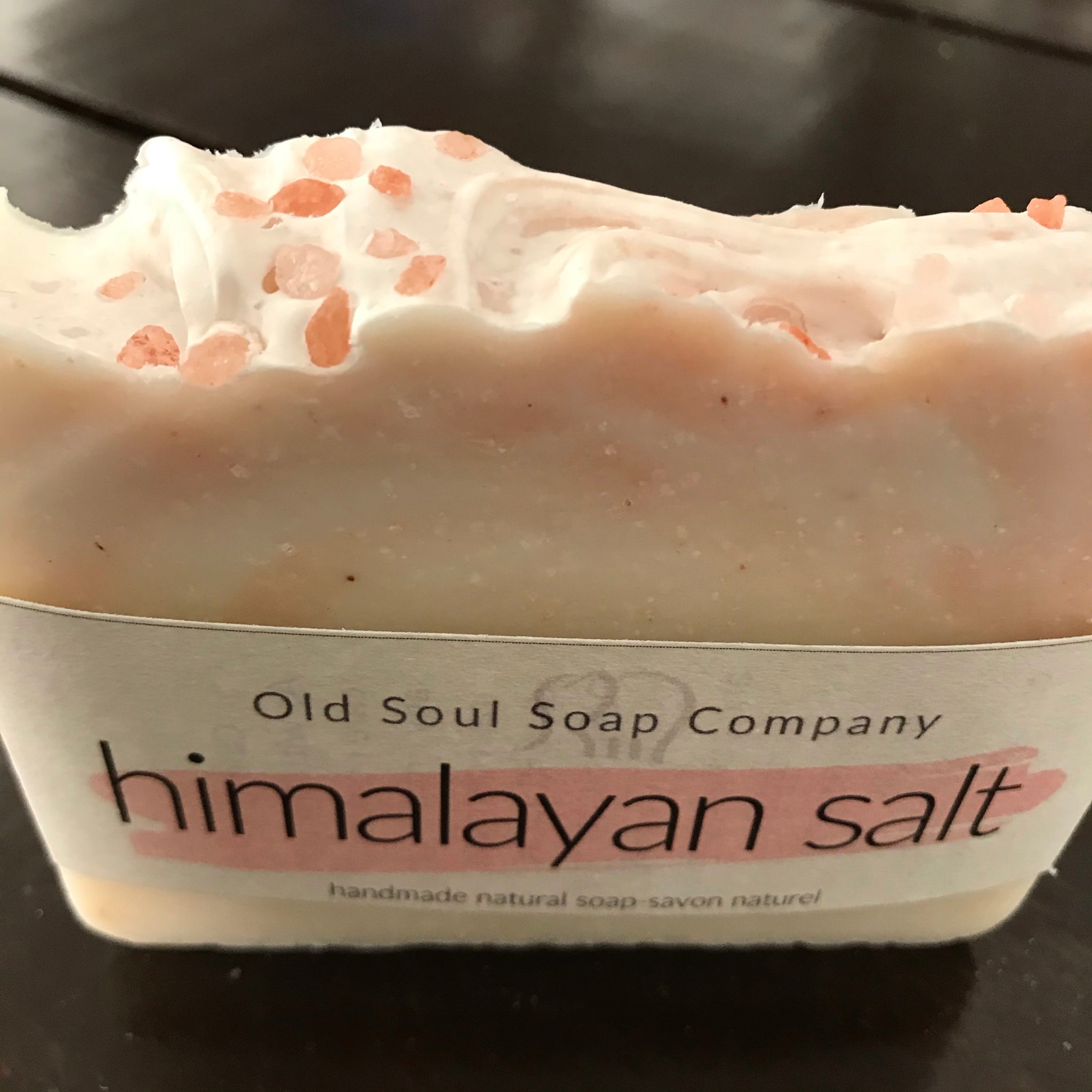 himalayan salt old soul soap company handcrafted natural soap