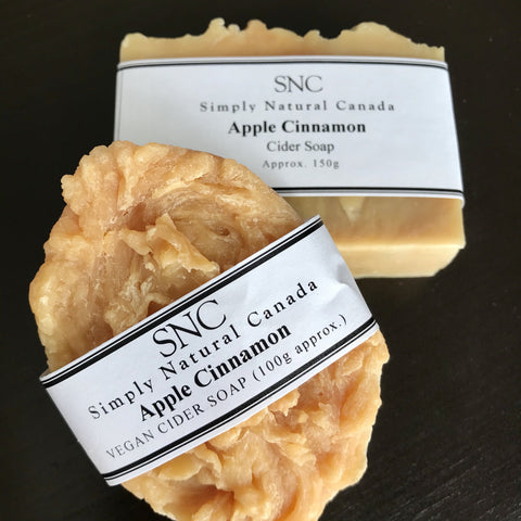 vegan cider soap made in canada