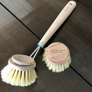 eco friendly dish brush with tampico sisal fibers