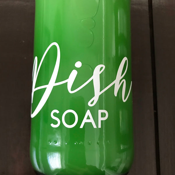 Dish Soap and Refill Bottles