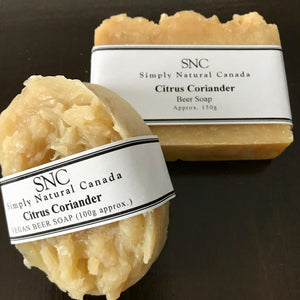 buy vegan citrus beer soap in canada