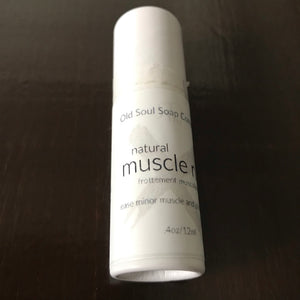 canadian made pocket size natural muscle rub