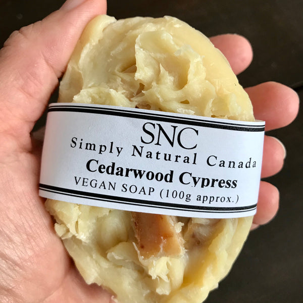 cedarwood cypress beer soap made in canada