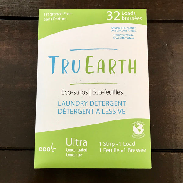 buy tru earth fragrance free eco laundry strips 32 pack