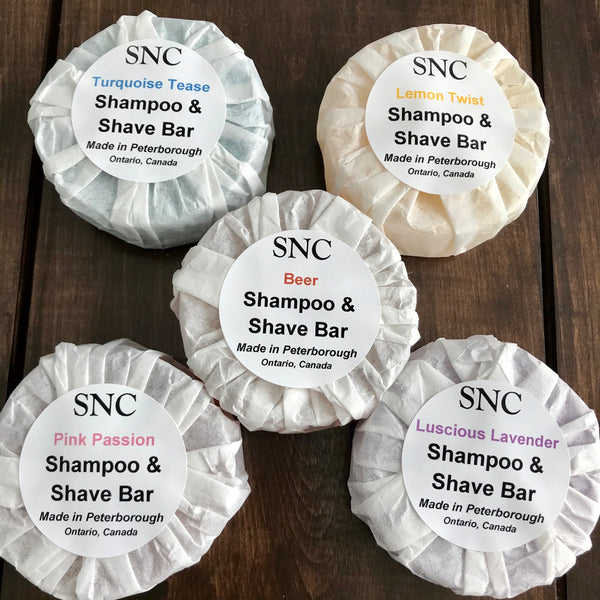 Beer Shampoo and Shave Bar