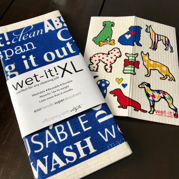 xl dogs wet it swedish dishcloth