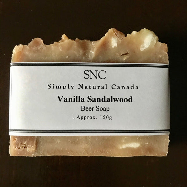 handcrafted beer soap made in canada