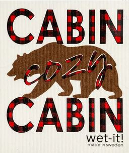buy cabin cozy cabin wet it swedish dishcloth