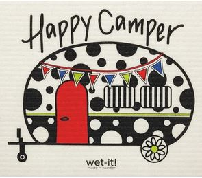 buy happy camper wet it swedish dishcloth in canada