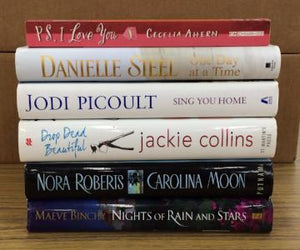 Assorted Romance Books