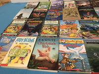 Lot of 10 Children's Kids Chapter Books Instant Library Unsorted FREE SHIPPING!