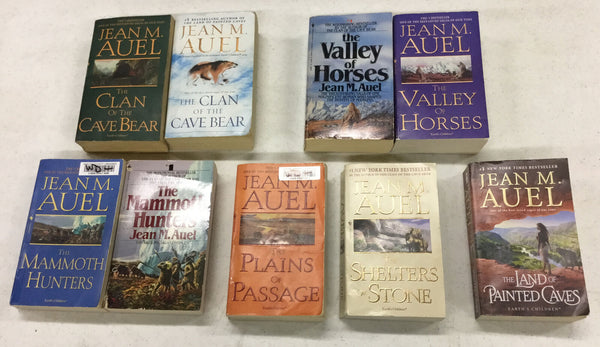 Earth's Children Series  Lot of 1-6  / Jean M Auel / Clan of the Cave Bear +++