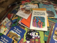 25 Book Lot Beginning Reader Emergent / Scholastic  / Learn To Read Random Mix