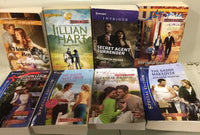 Lot of 10 LARGE PRINT Harlequin/Silhouette/Love Inspired ROMANCE Random Mix* PB