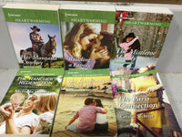 Lot of 10 Harlequin Heartwarming Clean Romance Book Mix Random