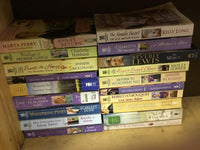 Lot of 10 Amish Inspirational Romance RANDOM Boos - Lewis Jebber Hubbard Others