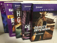 Lot of 10 Harlequin Silhouette Suspense Romance Intrigue SE  Book MIX UNSORTED