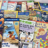 Lot of 10 Level 2~RL~Ready to-I Can Read-Step into Reading-Learn Read Books MIX
