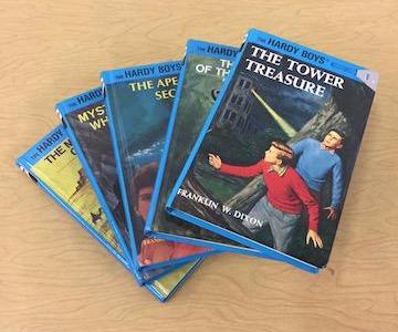 Assorted Hardy Boys