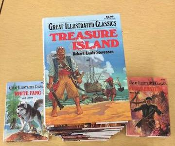 Assorted Great Illustrated Classics