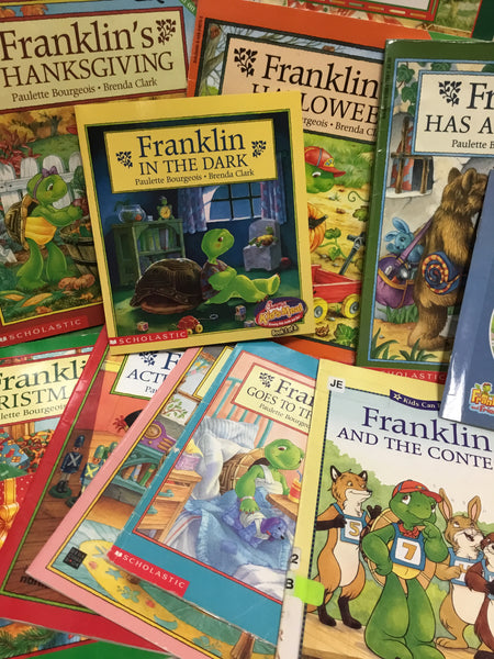 Franklin the Turtle Books — MIXED BOX