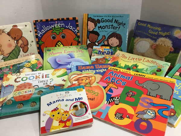 Large Baby & Toddler Hardcover Books (Ages 0-3)