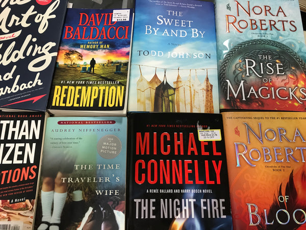 Adult Fiction Books — Mixed Box of Bestsellers