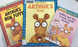 Arthur — Mixed Book Titles