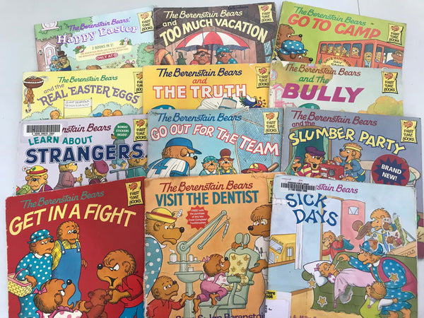 Berenstain Bears Books — Mixed Box