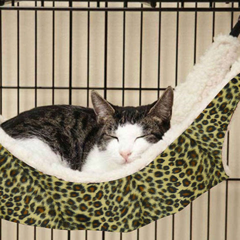 cat hanging bed