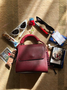 IN HER BAG: ANDREEA