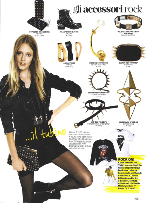 Isla Fontaine on Gioia! Magazine