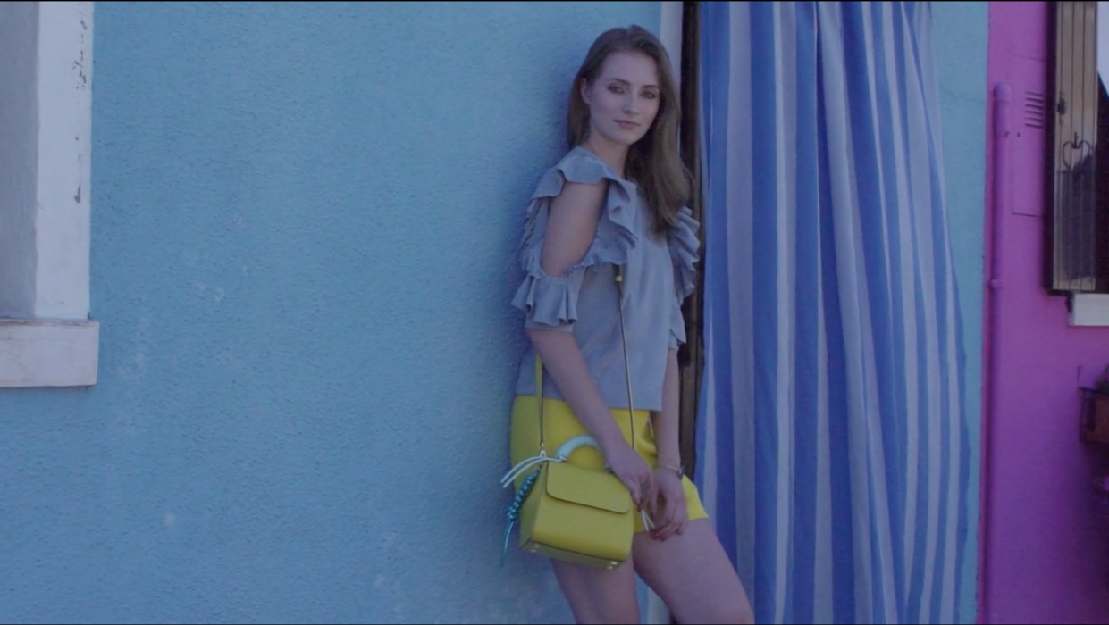 Isla Fontaine video cover spring summer 2018 collection bags jewelry