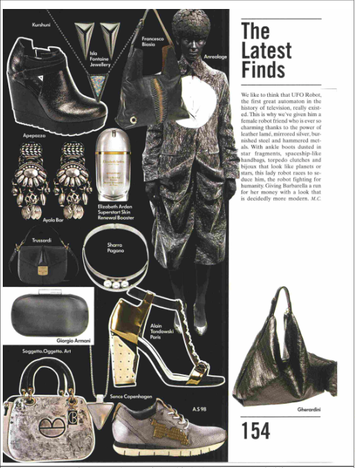 Isla Fontaine on Vogue Accessory Magazine