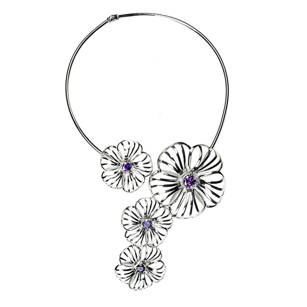 Hibiscus Necklace