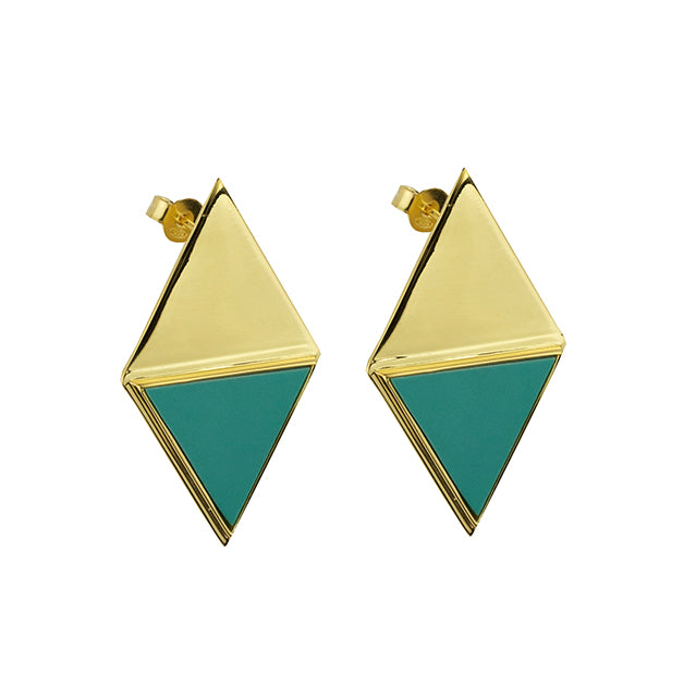 Ibiza Gold Earrings