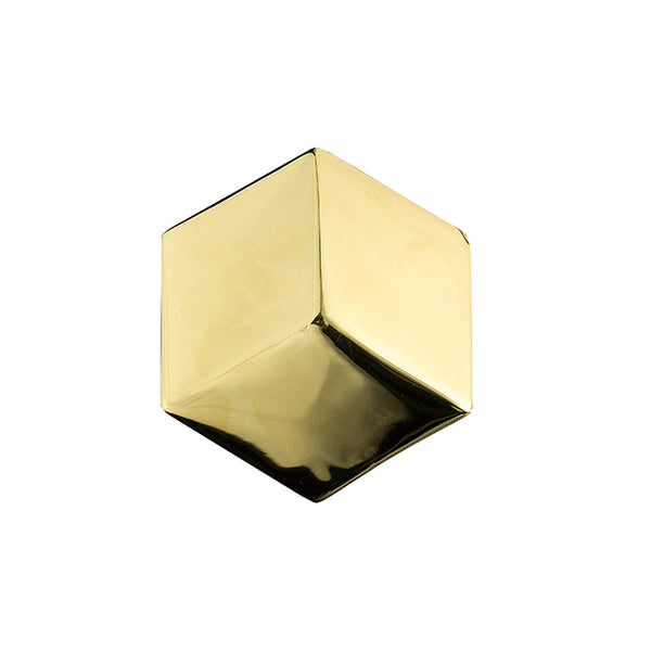 Sculptural gold ring
