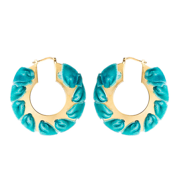 Sophia Circle Earrings