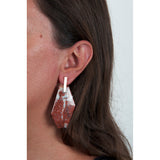 Isla Fontaine Vassily marble earrings