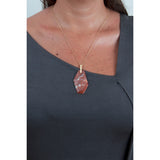 Isla Fontaine Vassily marble necklace