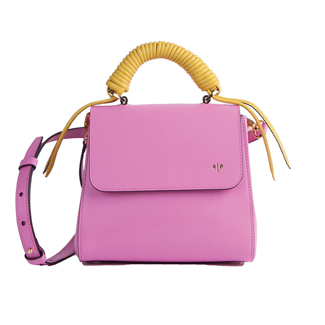 Isla Fontaine pink lady bag