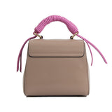 Lady Bag, Taupe and pink
