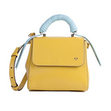 Isla Fontaine yellow lady bag
