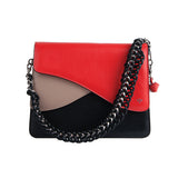 Isla Fontaine red shoulder bag