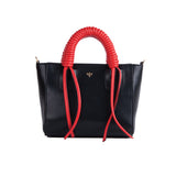 Isla Fontaine black mini tote bag
