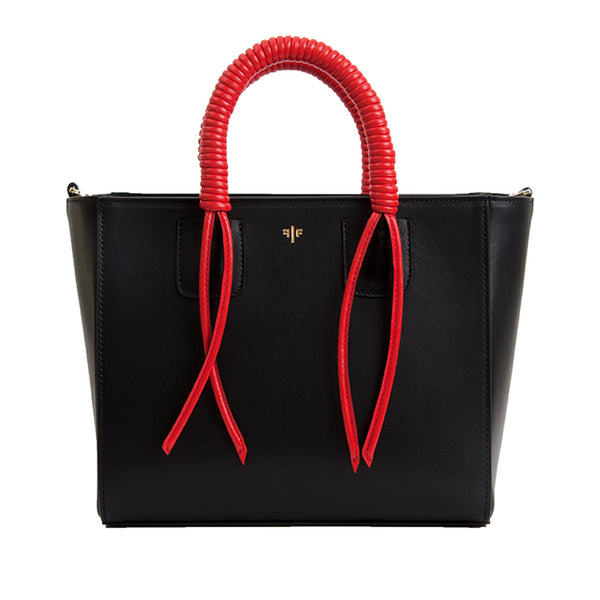 Isla Fontaine black tote bag